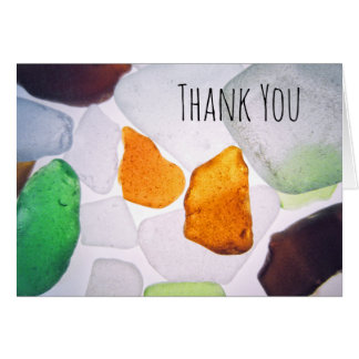 Strandexponeringsglas, färgrikt tack för OBS kort