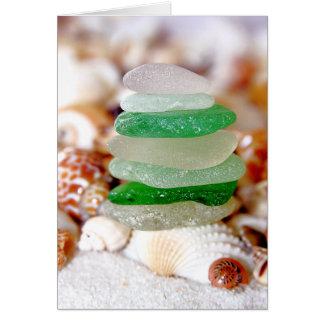 Strandexponeringsglas & snäckskalkort OBS kort