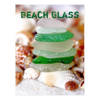 Strandexponeringsglas & snäckskalvykort vykort