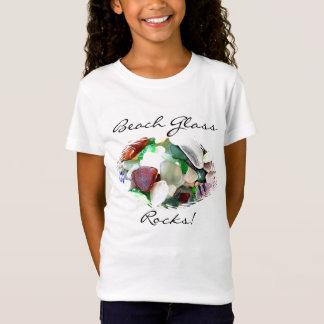 Strandexponeringsglas vaggar skjortan tee shirt