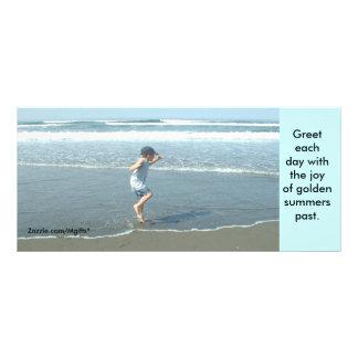 Strandglädje Reklamkort