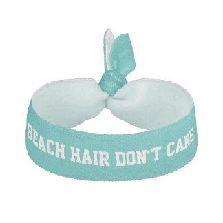 Strandhår att bry sig inte hårband