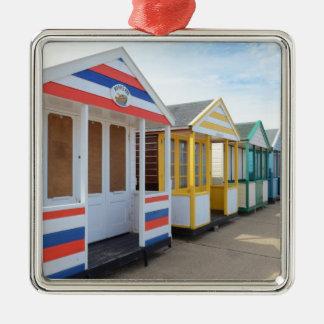 Strandkojor i östliga England Julgransprydnad Metall