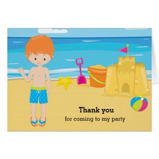 Strandparty Hälsningskort