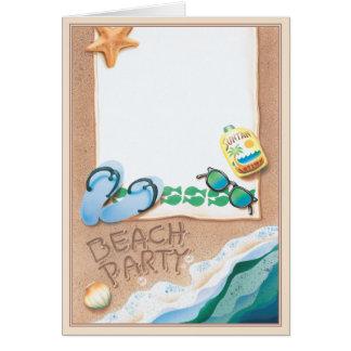 Strandparty© Hälsningskort