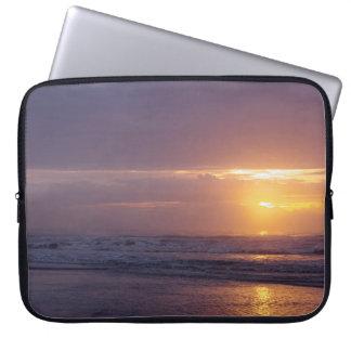 Strandsoluppgång Laptop Fodral
