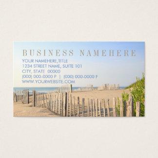 Strandstaketvisitkortar Visitkort