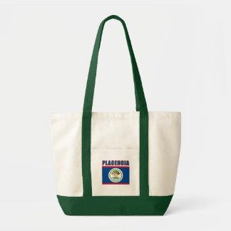 StrandTshirts för PLACENCIA Belize, gåvor Tygkasse