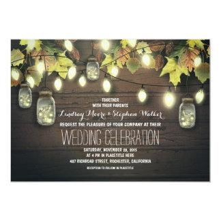 stränga av inbjudan för bröllop för burk för