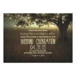 stränga av lantlig bröllopinbjudan för ljus personliga inbjudan