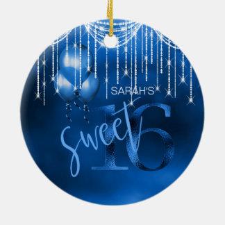 Stränga ljus, & ballonger sött 16 Dk slösar ID473 Julgransprydnad Keramik