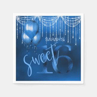 Stränga ljus, & ballonger sött 16 Dk slösar ID473 Pappersservetter