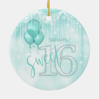 Stränga ljus & kricka sött 16 ID473 för ballonger Julgransprydnad Keramik