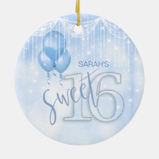 Stränga ljus & Lt sött 16 för ballonger. Slösa Julgransprydnad Keramik