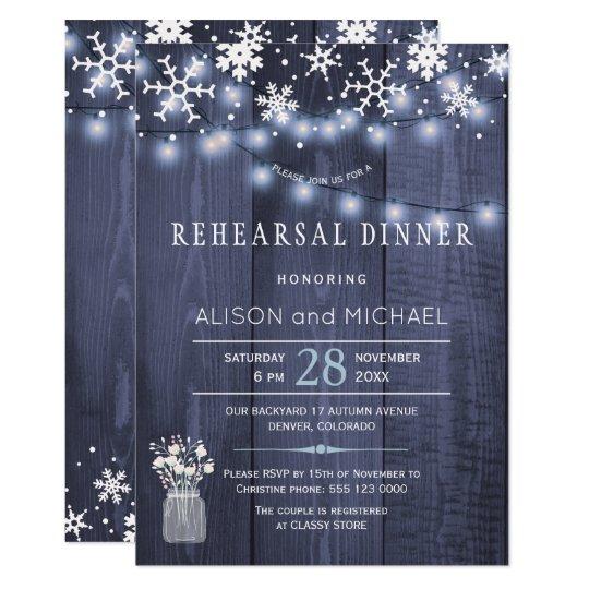 Stränga repetition middag för 12,7 x 17,8 cm inbjudningskort