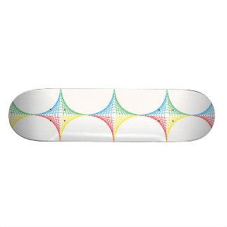 Stränga stjärnan mini skateboard bräda 18,7 cm