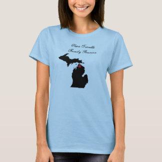 Strappy överträffa t-shirt