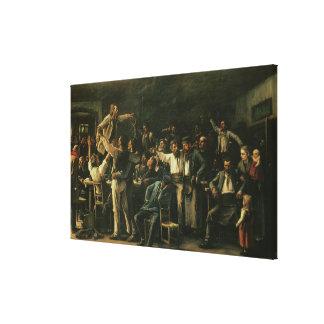 Strejka 1895 canvastryck