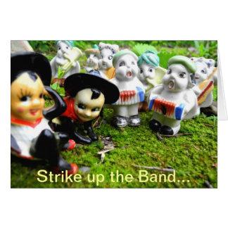 Strejka upp musikbandet…, Det är din födelsedag Hälsningskort