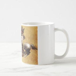 Strid av Anghiari av Leonardo Da Vinci Kaffemugg