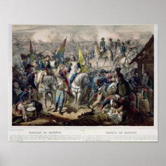 Strid av Marengo 14th Juni 1800 Poster