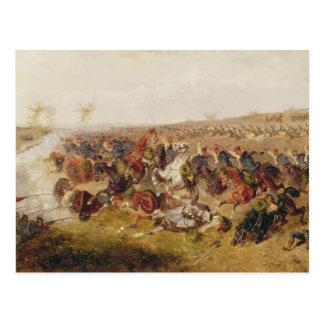 Strid av Schweinschaedel, 29th Juli 1866 Vykort