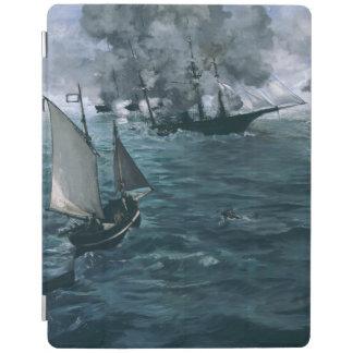 Strid av USS Kearsarge och CSS Alabama vid Manet iPad Skydd