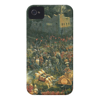 Striden av Issus (fragment) vid Albrecht Altdorfe iPhone 4 Case-Mate Case