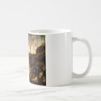 Striden av kärlek och kyskhet av Andrea Mantegna Kaffemugg