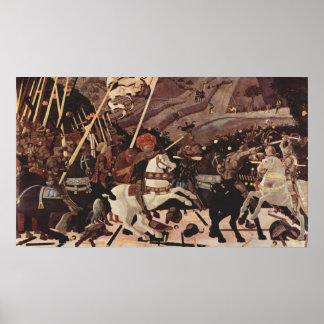 Striden av San Romanodel II Poster