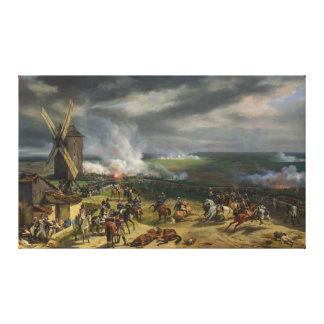Striden av Valmy av Jean-Baptiste Mauzaisse Canvastryck