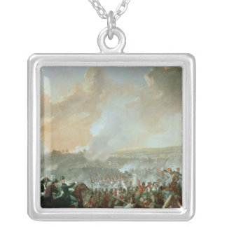 Striden av Waterloo, 18th Juni 1815 Silverpläterat Halsband