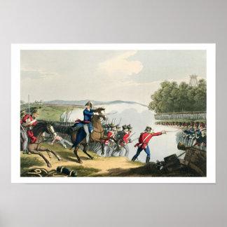 Striden av Waterloo avgjorde vid hertigen av brunn Poster