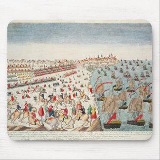 Striden av Yorktown, 19th Oktober 1781 Musmatta