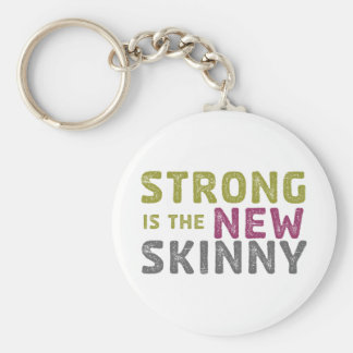 Stronge är den nya smalan - skissa rund nyckelring