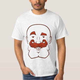 Strongstache (skalligt, rött hår) tee shirt