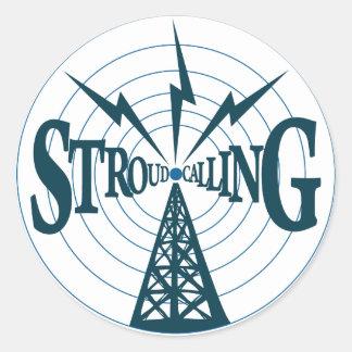 Stroud som kallar logotypen - klistermärke 1.5inch