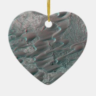 struktur av fördärvar dyner julgransprydnad keramik