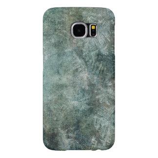 Struktur för is för Grungegråttgrönt Galaxy S5 Fodral