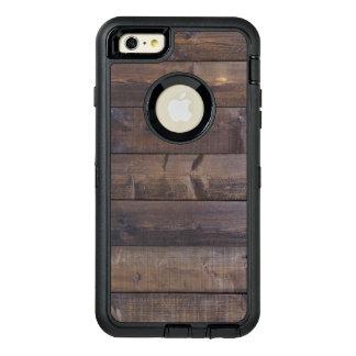 Struktur för korn för stilfull Wood Looknatur Wood OtterBox iPhone 6/6s Plus Fodral