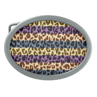 Struktur för päls för vintagemönsterleopard