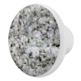 Struktur för sten för geologivitgranit knopp