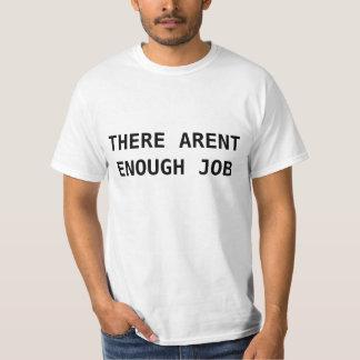 Strukturell arbetslöshet förklarade skjortan t-shirt