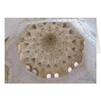 Strukturer av Alhambraen, Spanien Hälsningskort