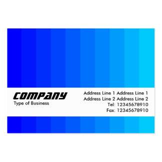 Strukturmusikband - färgövergång - deppighet set av breda visitkort