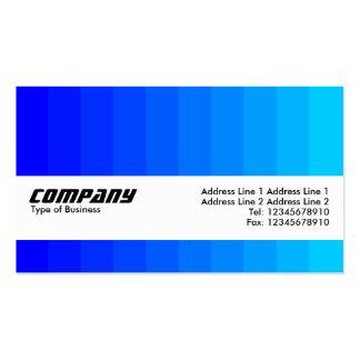 Strukturmusikband - färgövergång - deppighet set av standard visitkort