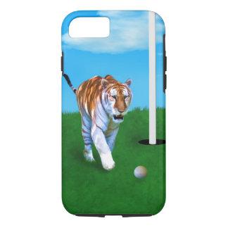 Stryka omkring tiger- och golfbollanpassade