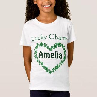 Sts Patrick berlock för namn för dagpersonlig T Shirt