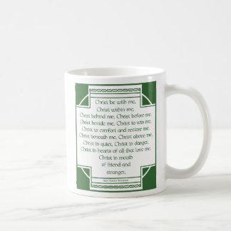 Sts Patrick bröstharnesk Kaffemugg