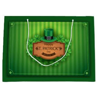 Sts Patrick dag - hatt & klöver
